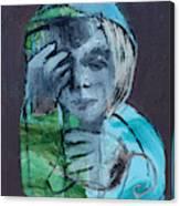 Blue Anorak Canvas Print
