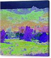 Blue Badlands Rhapsody Canvas Print