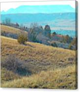 Blue Butte Prairie Reverie Canvas Print