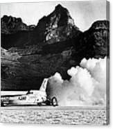 Blue Flame Rocket-powered Car, C1970 Canvas Print