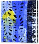 Blue Garden 1 Canvas Print