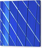 Blue Glass Modern Building Canvas Print