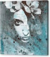 Blue Hypothermia Canvas Print