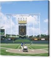 Blue Jays V Royals Canvas Print