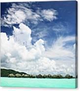 Blue Lagoon Holiday Luxury Resort Canvas Print