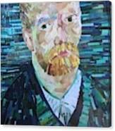 Blue Van Gogh Canvas Print