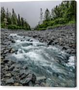 Blue Water Creek Canvas Print