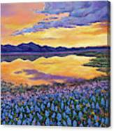 Bluebonnet Rhapsody Canvas Print