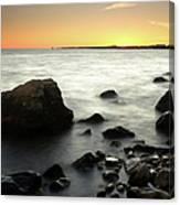 Bluff Point Sunset Canvas Print