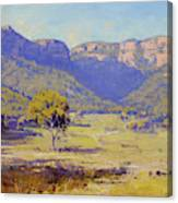 Bluffs Of The Capertee Valley Canvas Print