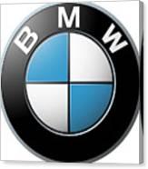 Bmw Emblem Canvas Print