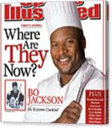 Bo Jackson, Where Are They Now Sports Illustrated Cover Canvas Print