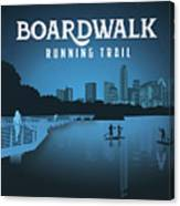 Boardwalk Running Trail Canvas Print