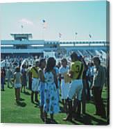 Boca Raton Polo Set Canvas Print
