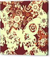 Boho Butterflies Canvas Print