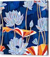 Bold Botanical Canvas Print