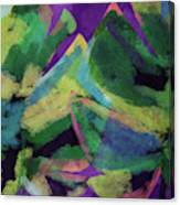 Bold Tropical Dreams- Art By Linda Woods Canvas Print