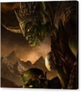 Bolg The Goblin King Canvas Print