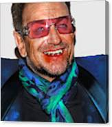 Bono U2 Canvas Print