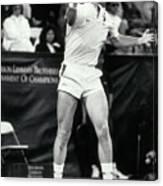Boris Becker Hitting Return Shot Canvas Print