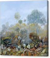 Boschetto Colorato Canvas Print