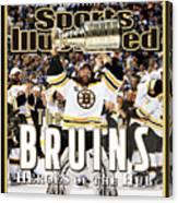 Boston Bruins, 2011 Nhl Stanley Cup Champions Sports Illustrated Cover Canvas Print