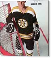 Boston Bruins Bobby Orr Sports Illustrated Cover Canvas Print