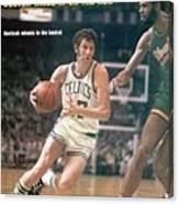 Boston Celtics John Havlicek, 1974 Nba Finals Sports Illustrated Cover Canvas Print