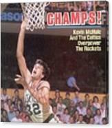 Boston Celtics Kevin Mchale, 1986 Nba Finals Sports Illustrated Cover Canvas Print