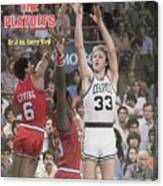 Boston Celtics Larry Bird, 1980 Nba Eastern Conference Sports Illustrated Cover Canvas Print