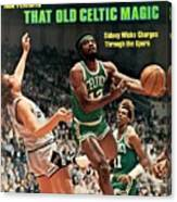 Boston Celtics Sidney Wicks, 1977 Nba Eastern Conference Sports Illustrated Cover Canvas Print