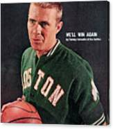 Boston Celtics Tommy Heinsohn Sports Illustrated Cover Canvas Print