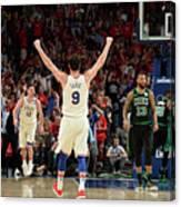 Boston Celtics V Philadelphia 76ers - Canvas Print