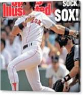 Boston Red Sox Dwight Evans... Sports Illustrated Cover Canvas Print