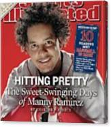 Boston Red Sox Manny Ramirez Sports Illustrated Cover Canvas Print