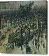 Boulevard Des Italiens - Afternoon, 1987 Canvas Print