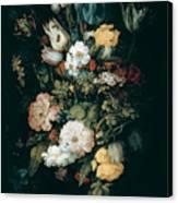 Bouquet Of Flowers  The So Called Liechtenstein Bouquet        Canvas Print