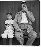 Branch Rickey & Family Canvas Print
