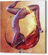Brandy Girl Canvas Print