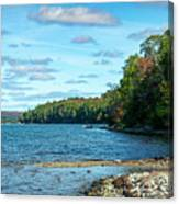 Bras D'or Lake, Cape Breton Nova Scotia, Canada Canvas Print