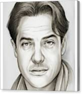 Brendan Fraser Canvas Print