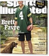 Brett Favre, Where Are They Now Sports Illustrated Cover Canvas Print
