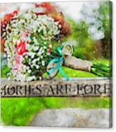 Bridal Bouquet Canvas Print