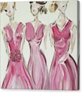 Bridesmaids Canvas Print