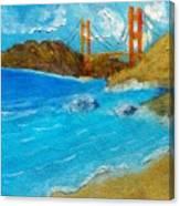 Bridge Over The Bay Canvas Print