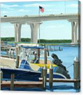 Bridge To Summer II Canvas Print