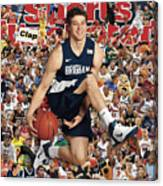 Brigham Young University Jimmer Fredette, 2011 March Sports Illustrated Cover Canvas Print