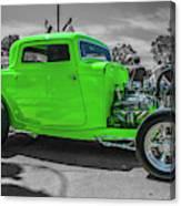 Bright Green Ford Canvas Print