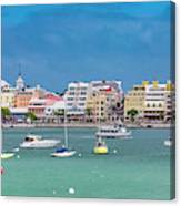 Brilliant Bermuda  Cityscape Canvas Print