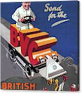British Vacuum Cleaner Vintage Advert 1910 Canvas Print
